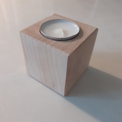 Cube Bougeoir personnalisable